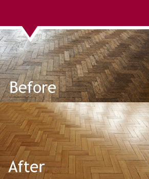 Wooden Flooring sanding and refurbishment from ACH Oxford